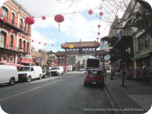 Canada's oldest Chinatown, Victoria British Columbia