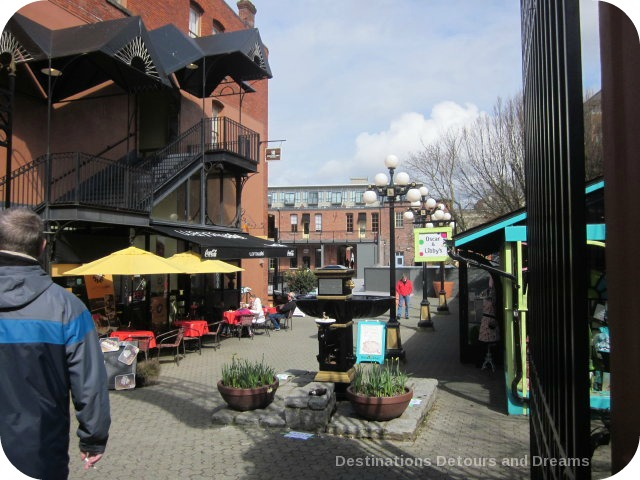 Market Square in Canada's oldest Chinatown, Victoria British Columbia