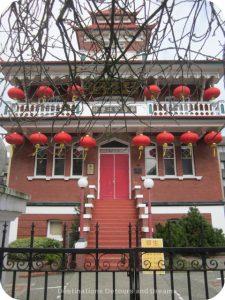 Victoria Chinese Public School in Canada's oldest Chinatown, Victoria British Columbia