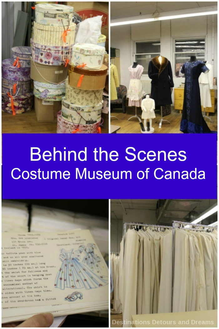 Behind the scenes at the Costume Museum of Canada, A peek into the operations of a volunteer-run, pop-up museum showcasing Canada's social history through its clothing