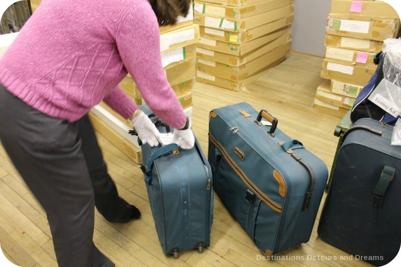 Behind the scenes at the Costume Museum of Canada - Museum in a Suitcase program