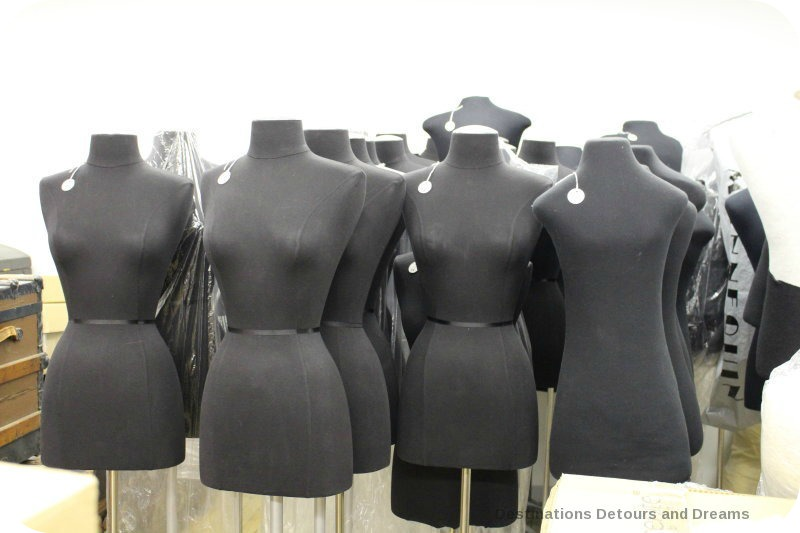 Behinds the scenes at the Costume Museum of Canada