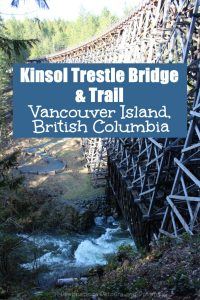 he spectacular historic Kinsol Trestle Bridge on Vancouver Island is part of the Cowichan Valley Trail and a reminder of mining and logging histories. #VancouverIsland #CowichanValley #Canada #trestlebridge
