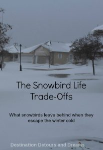 The Snowbird Life Trade-Offs: what snowbirds leave behind when escaping the winter cold
