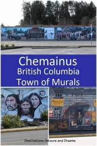 Murals in Chemainus, BritishColumbia, the town of murals. #Canada #BritishColumbia #VancouverIsland #murals #quainttown