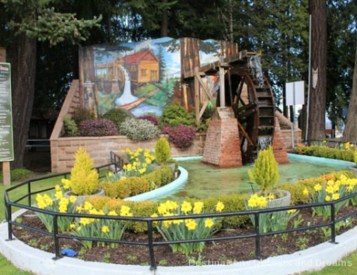Chemainus British Columbia is known as Muraltown