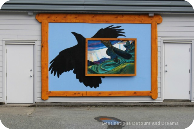 Murals in Chemainus, British Columbia (Muraltown): The Keeper of Secrets by Paul Marcano