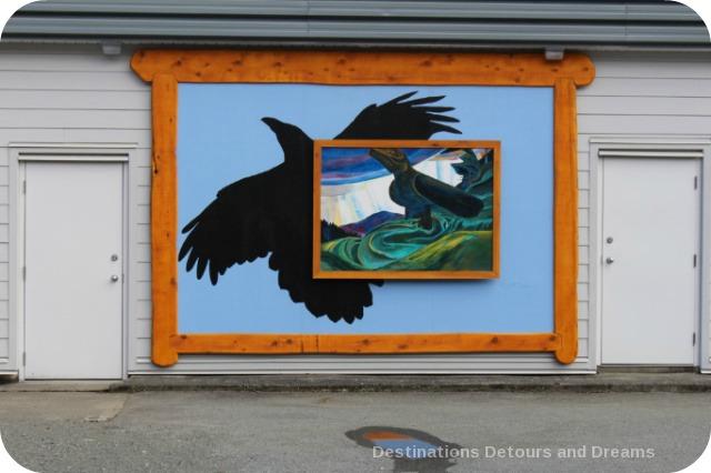 Murals in Chemainus, British Columbia (Muraltown): The Keeper of Secrets by Paul Marcano