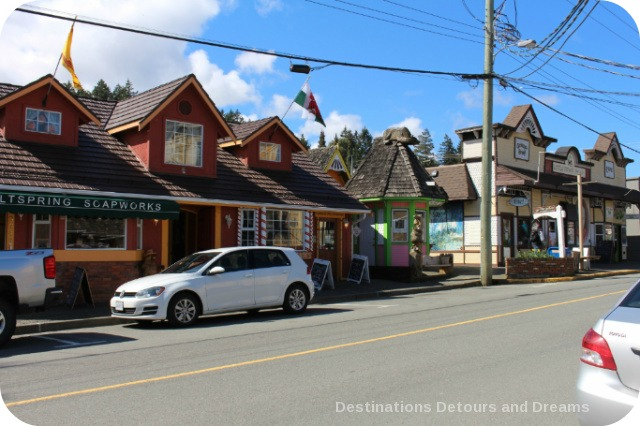 "Chemainus, British Columbia is known as ""Muraltown"""