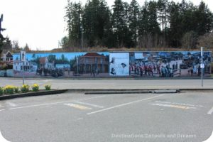 Murals in Chemainus, British Columbia (Muraltown): The World in Motion by Alan Wylie