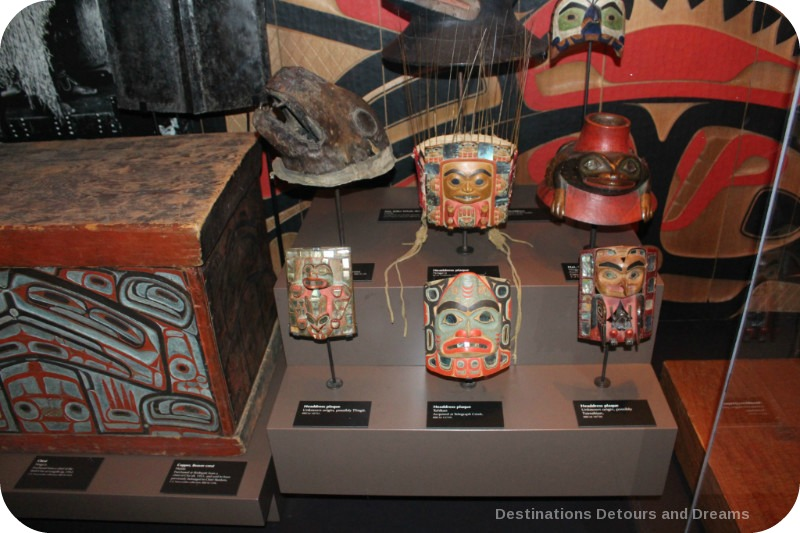 The story of British Columbia at the Royal BC Museum - native art