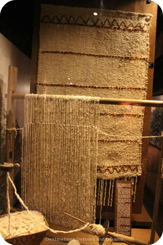 Secwepemc - Salish weaving