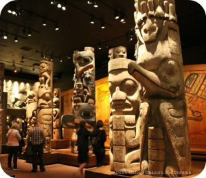 The story of British Columbia at the Royal BC Museum - Totem Gallery