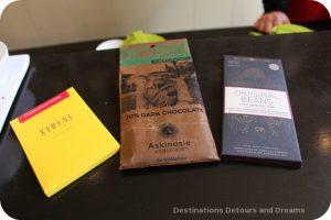 Tea and chocolate at Silk Road Tea in Victoria, British Columbia