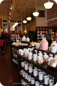 Silk Road Tea in Victoria, British Columbia where I had a tea and chocolate tasting experience