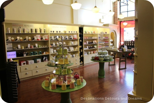 Tea and Chocolate: Silk Road Tea in Victoria, British Columbia