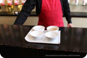Tea and Chocolate at Silk Road Tea, Victoria, British Columbia