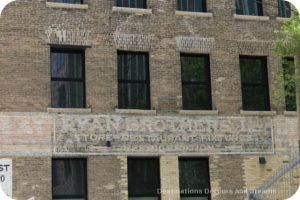 Ghost signs in Winnipeg's Exchange District tell stories of the past