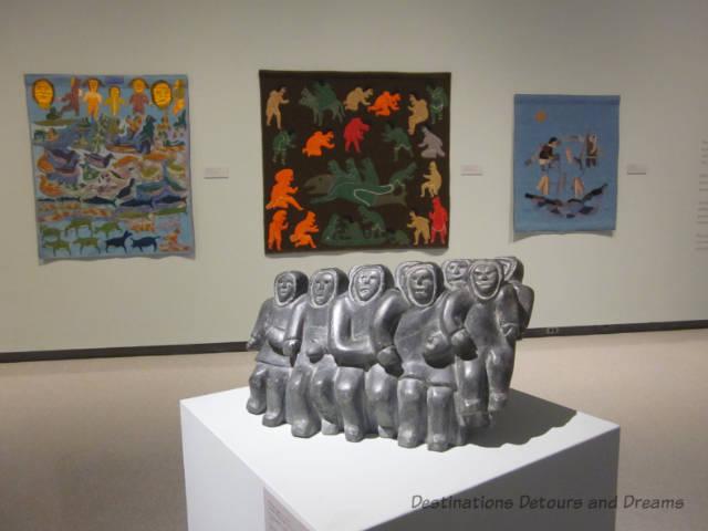 Inuit art show at the Winnipeg Art Gallery