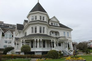Afternoon tea at Gatsby Mansion in Victoria, British Columbia
