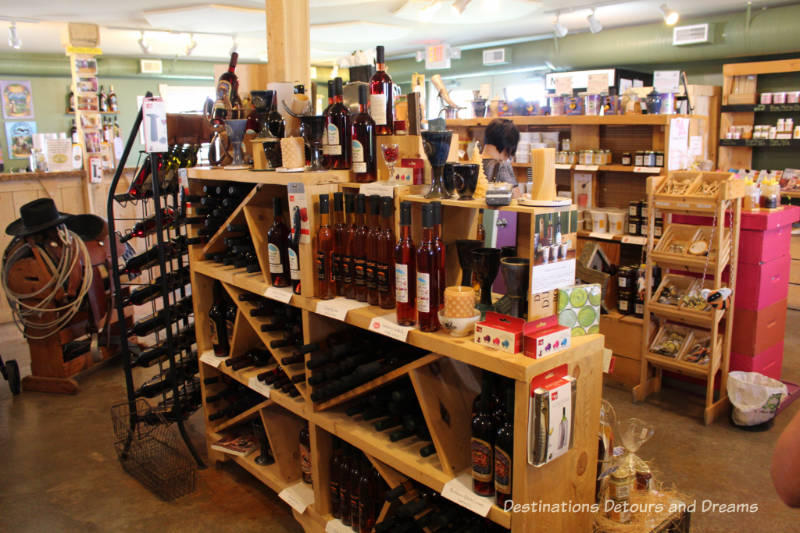 Chinook Honey store: Honey wine tour at Chinook Arch Meadery in Okotoks, Alberta