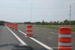 Canadian Prairie Summer Road Trip Photo Story: road construction