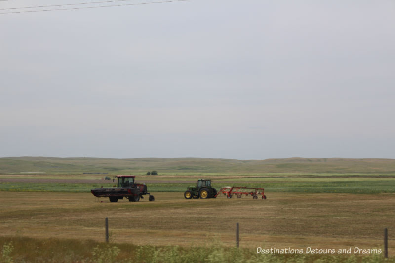 Canadian Prairie Summer Road Trip Photo Story: farm machinery
