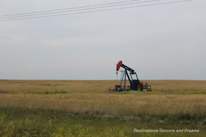 Canadian Prairie Summer Road Trip Photo Story: oil well