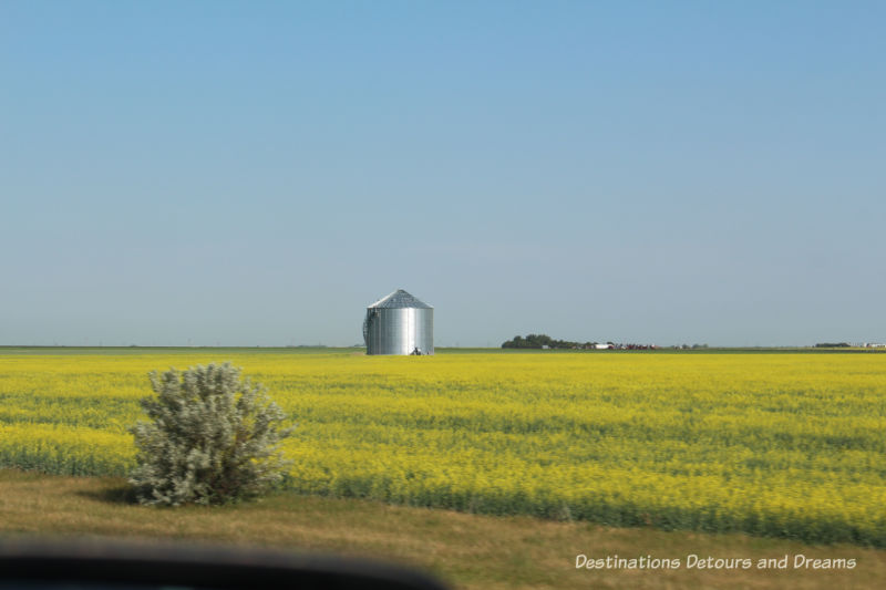 Canadian Prairie Summer Road Trip Photo Story: silo
