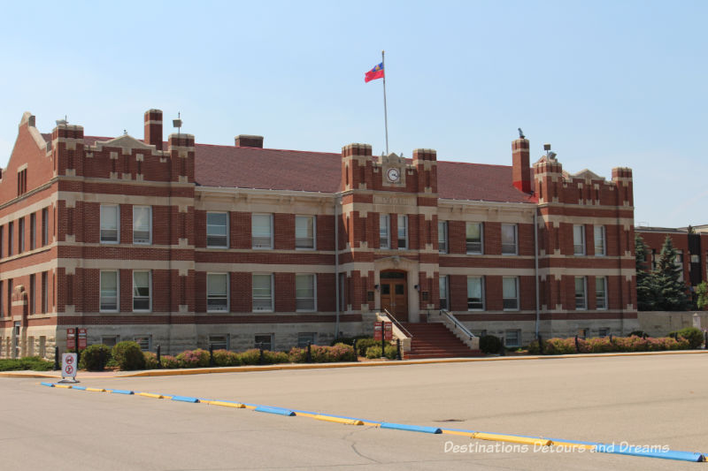 Canada Past and Present at RCMP Heritage Centre in Regina, Saskatchewan: A Block in Depot Division