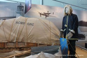 Canada Past and Present at RCMPHeritage Centre in Regina, Saskatchewan: patrolling the Arctic