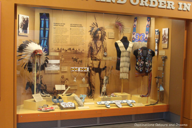 Canada Past and Present at RCMP Heritage Centre in Regina, Saskatchewan