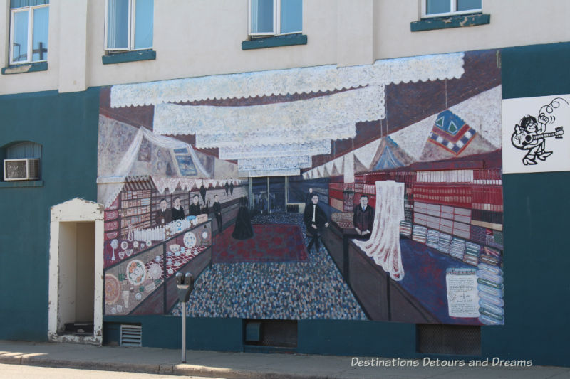 Mural in Moose Jaw, Saskatchewan, Canada