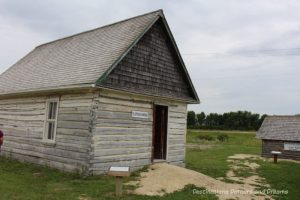 Slipchuk House at Arborg and District Multicultural Heritage Village,where restored buildings preserve Manitoba's past.