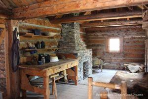 Fort in Heritage Park Historical Village in Calgary, Alberta