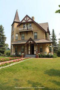 Prince House, circa 1894, in Heritage Park Historical Village in Calgary, Alberta