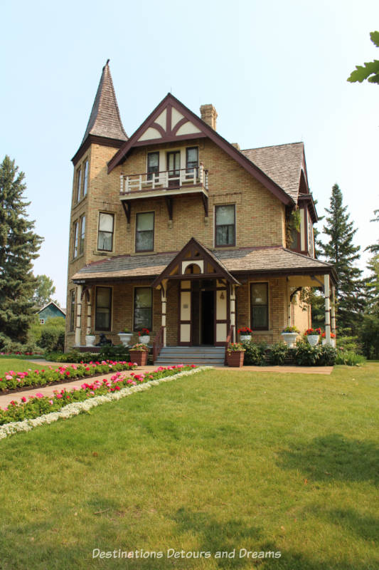 Prince House, circa 1894, in Heritage Park Historical Village in Calgary, Alberta