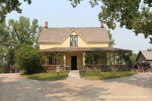 Burnside Ranch House in Heritage Park Historical Village in Calgary, Alberta