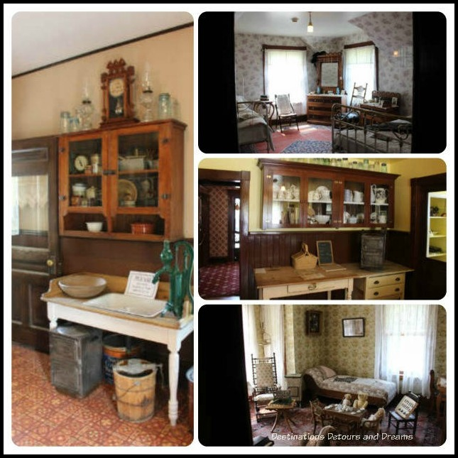 Rooms in Heritage Park Historical Village in Calgary, Alberta