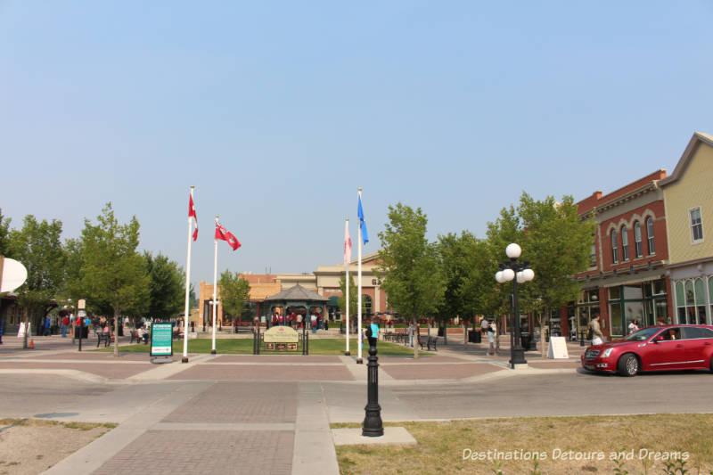 heritage Square at Heritage Park Historical Village in Calgary, Alberta