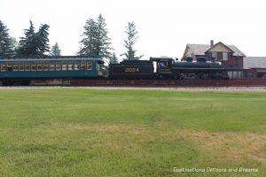 Train in Heritage Park Historical Village in Calgary, Alberta