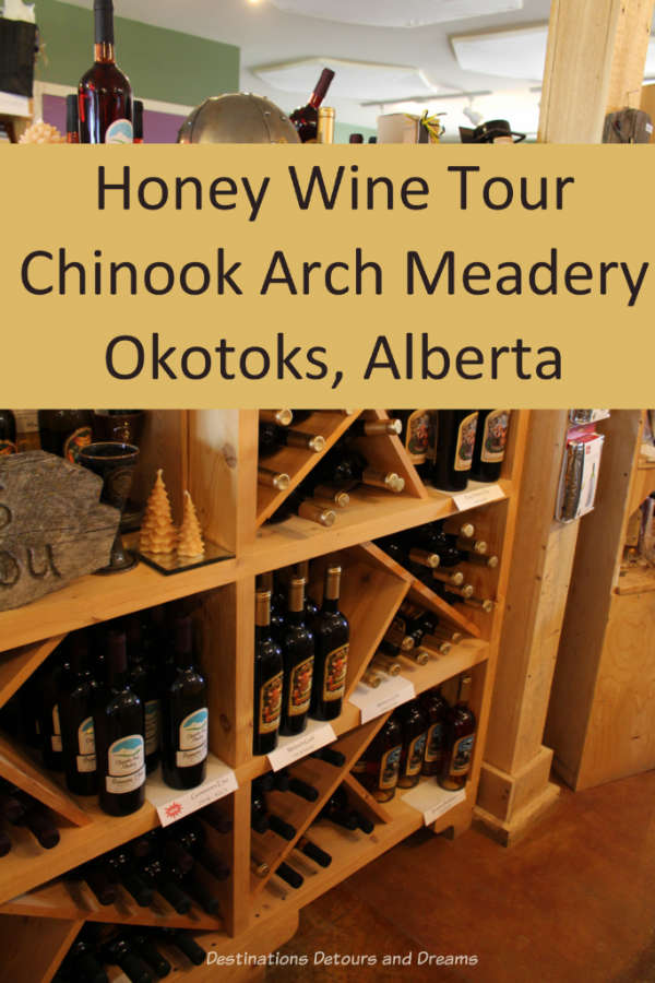 Honey wine tour at Chinook Arch Meadery in Okotoks, Alberta #Canada #Alberta #mead #winery #Okotoks