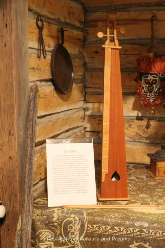 Langspil at New Iceland Heritage Museum: Icelandic Roots In Gimli, Manitoba