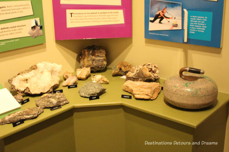 Rocks at New Iceland Heritage Museum: Icelandic Roots In Gimli, Manitoba