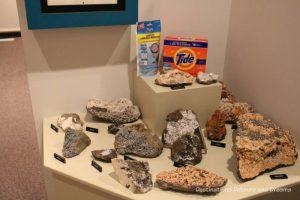 Zeolites in New Iceland Heritage Museum: Icelandic Roots In Gimli, Manitoba