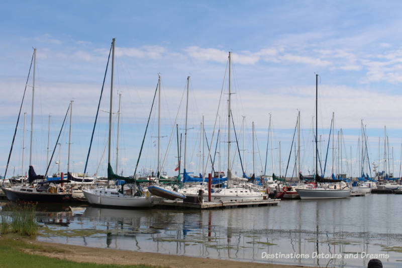 Marina at Gimli, Manitoba