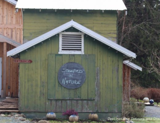 A Sweet Visit to Westholme Tea on Vancouver Island. Tea, pottery, sweets on a Canadian tea farm.
