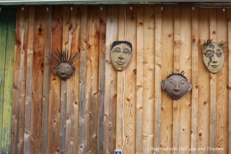 Margit Nellemann pottery. A Sweet Visit to Westholme Tea on Vancouver Island. Tea, pottery, sweets on a Canadian tea farm.