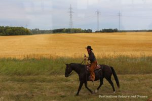 The Great Train Robbery: a fun excursion on Manitoba's Prairie Dog Central Railway, a heritage train