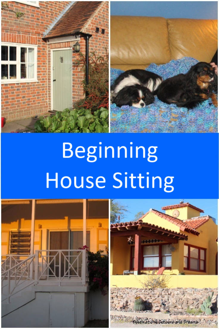 About the experience and adventure of getting started with house-sitting. #housesit